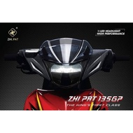 Warranty 1Year LC135 V1 ZHIPAT LED HEAD LAMP 100% ORIGINAL Free Head Cover Carbon & Cowling Visor