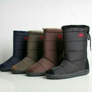 正韓皇冠雪靴 韓國製 輕量防風防潑水鋸齒防滑底中筒雪靴-est shoes