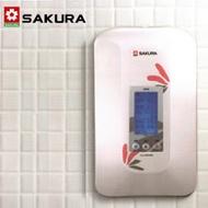 【促銷】SAKURA櫻花 數位恆溫瞬熱式電熱水器 H-125/SH-125 含運送