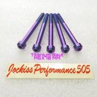 M6X70 MM Titanium Bolts