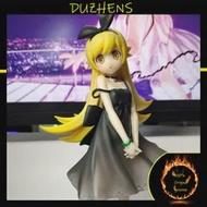 100% ของแท้ Kizumonogatari Oshino Shinobu สีดำ20ซม.PVC Action Figure รูปของเล่นรูปตุ๊กตาของขวัญ