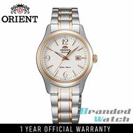 Orient FNR1Q002W Woman Contemporary Automatic 2 Toned Steel Watch NR1Q002W