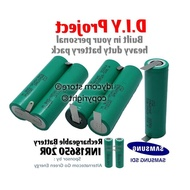 18650 Battery Pack Custom DIY Lithium Li Ion INR18650-20R INR18650 20R 22A Heavy Duty With Spot Weld 3.7V 4.2V 7.4V 8.4V