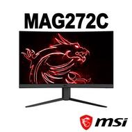 msi微星 Optix MAG272C 27吋 電競螢幕