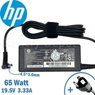 HP Adapter ของแท้ HP 14s-cf1044tx  14-r002tx 15-ac185tx 14-al172tx 14s-cf0033tx 14-CK0012TX 65W สายชาร์จ อะแดปเตอร์