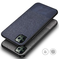 Iphone 12 / 12 Pro / 12 Mini / 12 Pro Max Soft Case Fabric Denim Cover