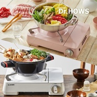 ▷twinovamall◁ [Dr.HOWS] Twinkle Gas Stove Gas Burner Camping, Soft Cream