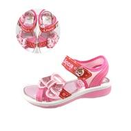 【兒童涼鞋】【台灣製造】【莉卡娃娃 可愛電燈涼鞋】LCKT00102 粉紅色