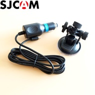 SJCAM SJ4000 Car Suction Cup Holder+Car Charger for SJ CAM SJ5000 SJ5000X Elite Wifi Sport Action Ca