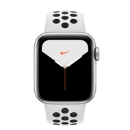 【直降】Apple Watch Nike+ Series 5 GPS+ LTE 版 44mm 銀色配黑色 Nike 運動錶帶 (MX3E2TA/A)