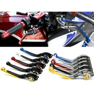 LFM-Ridea三節式右邊可調煞車拉桿附手煞車~TMAX530/MT07/MT09/XJ6/FZ6/R3/NINJA