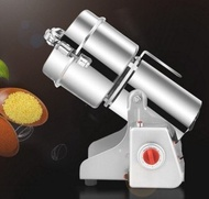 研磨機 電動磨豆機咖啡研磨機家用不銹鋼磨粉打粉機 110v