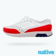 【native】小童鞋 LENNOX 小雷諾鞋(貝殼白x火炬紅)