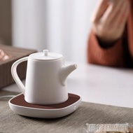 加熱器 三界茶杯保溫加熱器公道杯茶壺加熱墊家用暖牛奶咖啡恒溫電熱底座 科技藝術館