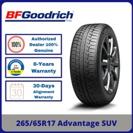 [INSTALLATION] 265/65R17 BFGoodrich Advantage SUV (By Michelin) *Clearance Year 2019 TYRE (1-7 days delivery)