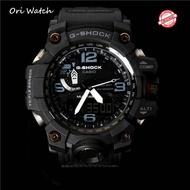 (In Stock) Original G SHOCK GWG-1000-1A MUDMASTER series analog digital Watch for men men's sports waterproof shockproof Watch for men double belt time GWG-1000/GWG1000