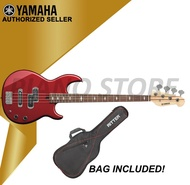 Authorized Seller - Yamaha BB424 RM Red Metallic Electric Bass Guitar with Guitar Bag (Red Metallic)
