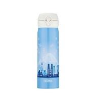 【台灣公司貨】THERMOS 膳魔師  不銹鋼真空保溫瓶 JNL-500-TKY  東京篇  隨機贈送保護套