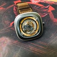 💫正版 二手 SEVENFRIDAY P2-01 台中面交 瑞士機械錶 錶帶可換