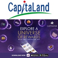 10000 STAR$ Capitaland Mall (Grab NTUC Fast Delivery) eTicket Voucher
