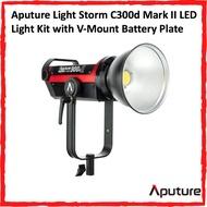 Aputure Light Storm C300d Mark II LED Light Kit with V-Mount Battery Plate (C300d II)