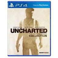 【二手遊戲 】PS4 秘境探險 奈森德瑞克 1 2 3 合輯 UNCHARTED THE NATHAN DRAKE 中文版