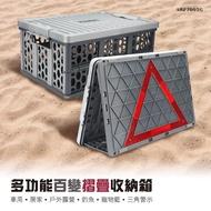 【CARAC】多功能百變摺疊收納箱