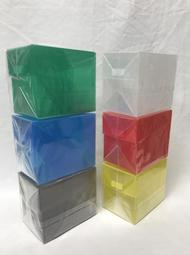 《真》塑膠卡盒 備牌盒 透明系列(特大)適用 飾品 紙牌 遊戲王 偶像學園 神奇寶貝 機甲英雄 甲蟲王者 多明納里亞