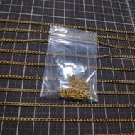 66โซ่สีทองเกลียว 1เส้น ขนาด 2มิล ยาว 30 ซม. ราคา 5 บาท