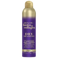 OGX Refresh and Full+ Biotin and Collagen Dry Shampoo 165ml