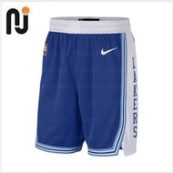 TT韓國專櫃~Nike/耐克 2021賽季湖人隊61復古SW球褲 籃球運動短褲 CN1029-495