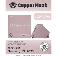 CopperMask Limited Edition Light Pink