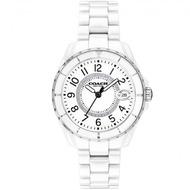 COACH 時尚小香款晶鑽陶瓷腕錶-32mm/白(14503462)