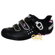 【CoLove咖樂單車】哈卡HASUS硬底自行車鞋/CASUAL/硬底鞋/非卡式自行車鞋/黑紫色/HDI008-BLP