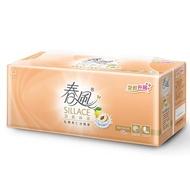 春風 SILLACE乳霜果仁油抽取式衛生紙110抽*12  包【愛買】