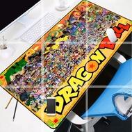 現貨直發Dragon Ball孫悟空布瑪小林七龍珠鼠標墊電腦鍵盤墊宿舍寫字桌墊
