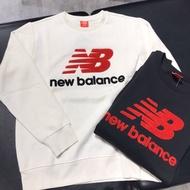 2色 New balance毛絨Logo衛衣