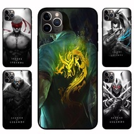 IPhone12 Pro Max 12mini  12 / 12 Pro LOL Yasuo  Blind Monk Casing Soft Case Cover