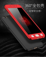 OPPO R11、R11 PLUS、R9、R9 PLUS、R9S、R9S PLUS   360 All-inclusive Case  (Free Tempered glass)