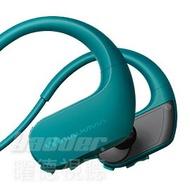 【曜德★買一送三】SONY NW-WS413 藍 4GB 防水極限運動數位隨身聽 ★免運★送收納盒+耳塞+絨布袋★