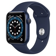 Apple Watch Series 6 (GPS) 44mm 藍色鋁金屬錶殼+藍色錶帶(M00J3TA/A)