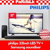 ►Parisilk Ultimate bundle◄ Philips 32PHT4233/98 LED TV + Samsung HW-N450/XS 320W 2.1Ch Flat Soundbar