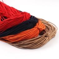 滿額免運 ☬ 松緊帶 ☬ 直徑2mm彩色彈力圓形松緊繩帶發飾頭繩 橡皮筋 DIY服裝輔料橡筋牛筋