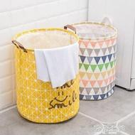 收納筐大號髒衣籃摺疊式髒衣服收納防水玩具雜物桶布藝家居洗衣簍 海角七號