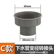 ┎珍品❥(^_-)┚廚房水槽菜盆下水管變徑配件內45mm轉外58mm變徑活接頭轉接轉換器