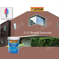 2111 Burned Terracotta 15L Jotun Jotashield Antifade Brown Pink Colour Exterior Anti Algae & Anti Fungal Cat Dinding Luar Rumah Anti Alga & Anti Kulat Paintivo