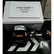 全新 Daiwa LIGHT GAME X ICV 200H 鼓式捲線器