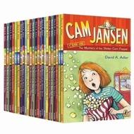 Cam Jansen 34 books set English chapter books for children