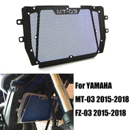 For Yamaha MT-03 MT03 MT 03 2015 2016 2017 2018 Motorcycle Radiator Grille Grill Guard Cover Protector Perfect Fit MT-03 MT03