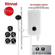 Rinnai Instant Heater REI-B330NP-5WSW * No.1 BRAND IN JAPAN * CHEAPEST in TOWN